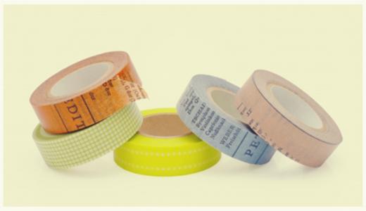 マスキングテープの発送方法と送料を安くする梱包方法