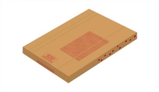 包装資材「箱(薄型)」の値下げのお知らせ